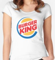 burger king Women's Fitted Scoop T-Shirt