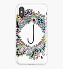 J iPhone Case/Skin