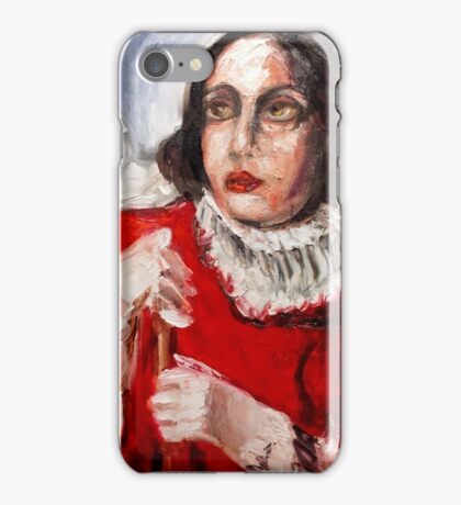 Out in the Cold iPhone Case/Skin