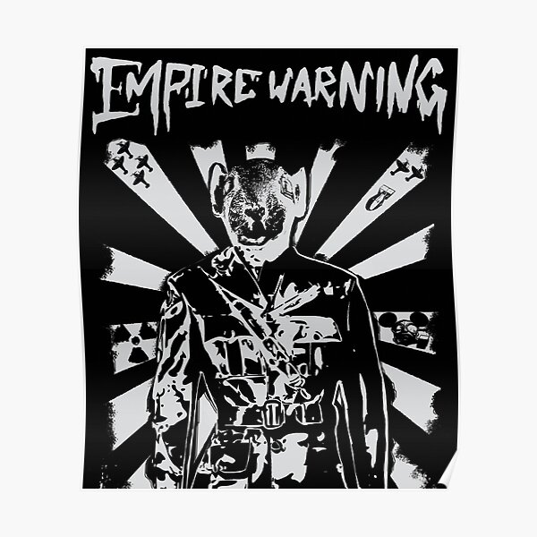 empire waring out to war logo Poster
