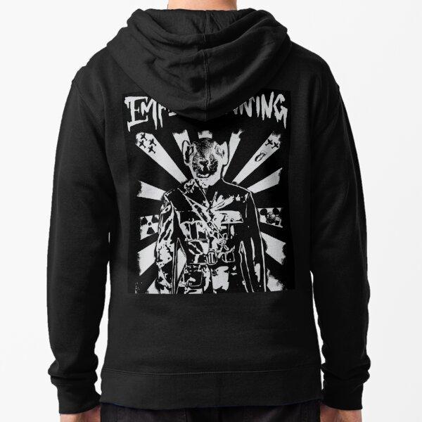 empire waring out to war logo Zipped Hoodie