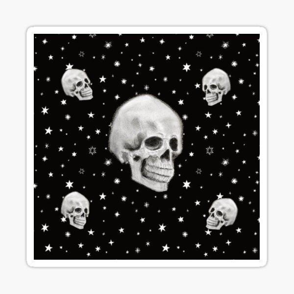 Stars and Skulls Night of the Dead Sticker