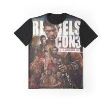 Spartacus Rebels 3 Graphic T-Shirt