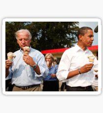 Joe Biden Loves Ice Cream Sticker