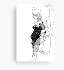 Art Line Canvas Print