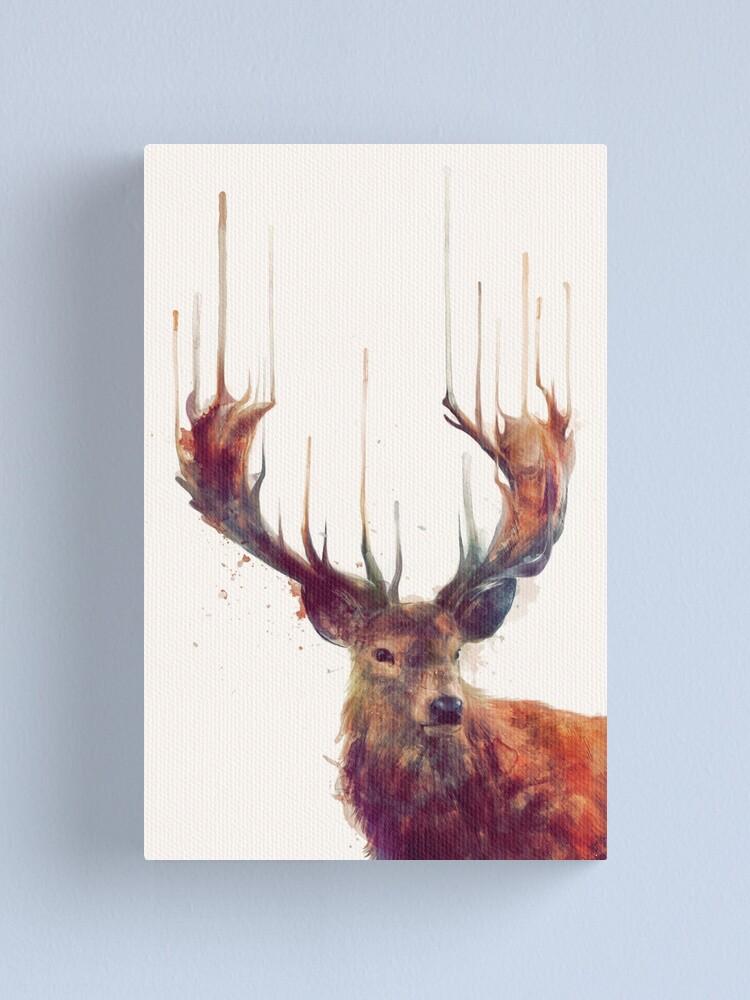 Alternate view of Red Deer Canvas Print