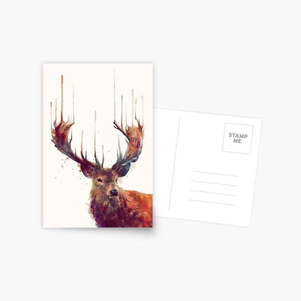 Red Deer Postcard