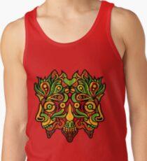 Camiseta de tirantes Demonio de la selva psicodélico