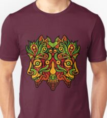 Psychedelic jungle demon Slim Fit T-Shirt