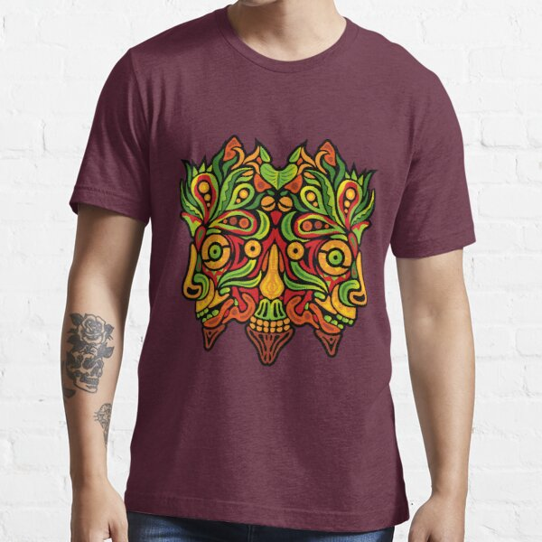 Psychedelic jungle demon Essential T-Shirt