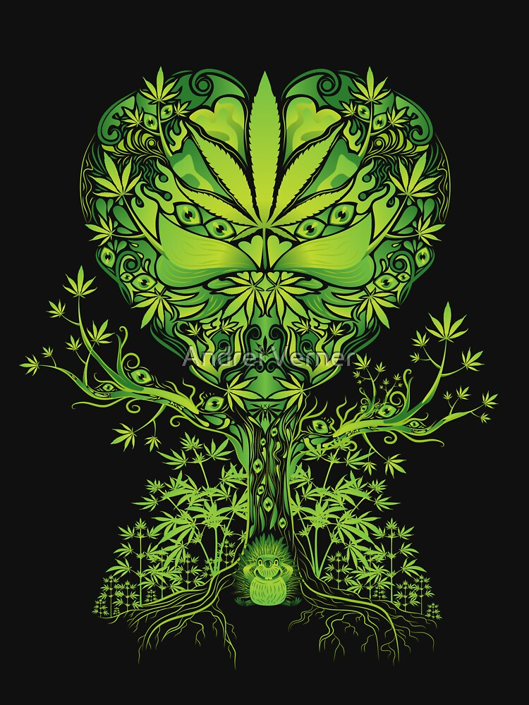 Marijuana Love Tree | Unisex T-Shirt