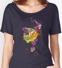 Psychedelic acid bear roar Women's Relaxed Fit T-Shirt