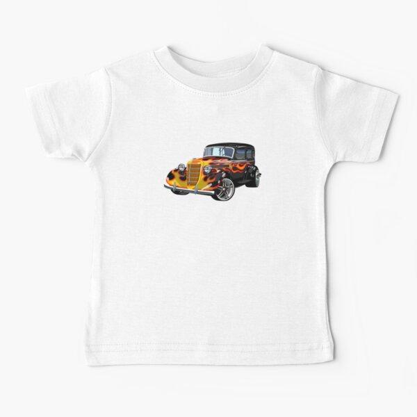 Retro Hot Rod Baby T-Shirt