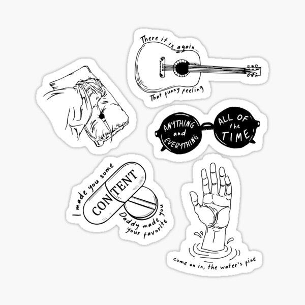 Inside sticker pack (Bo Burnham) Sticker