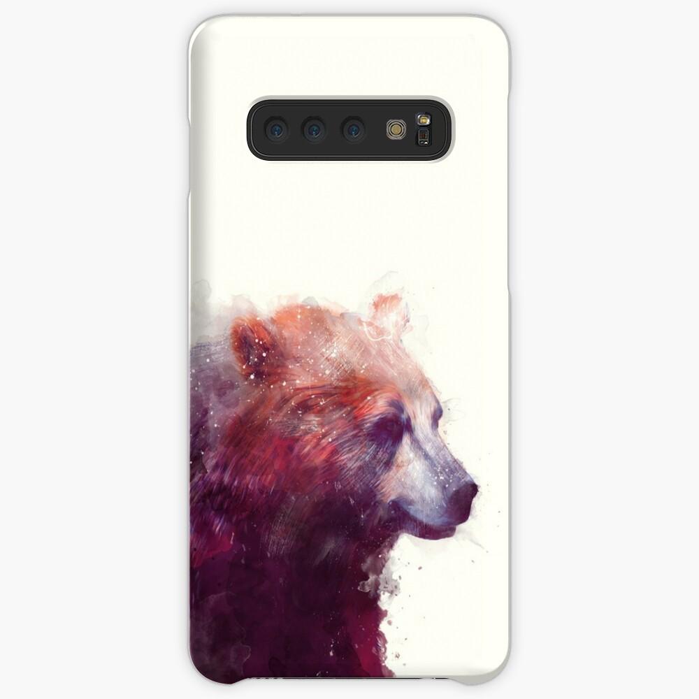 Bear // Calm Hülle & Klebefolie für Samsung Galaxy