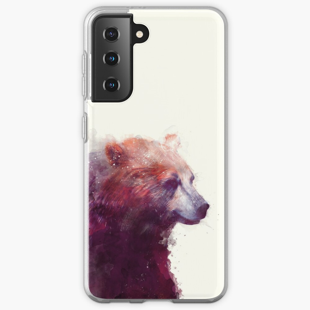 Bear // Calm Case & Skin for Samsung Galaxy