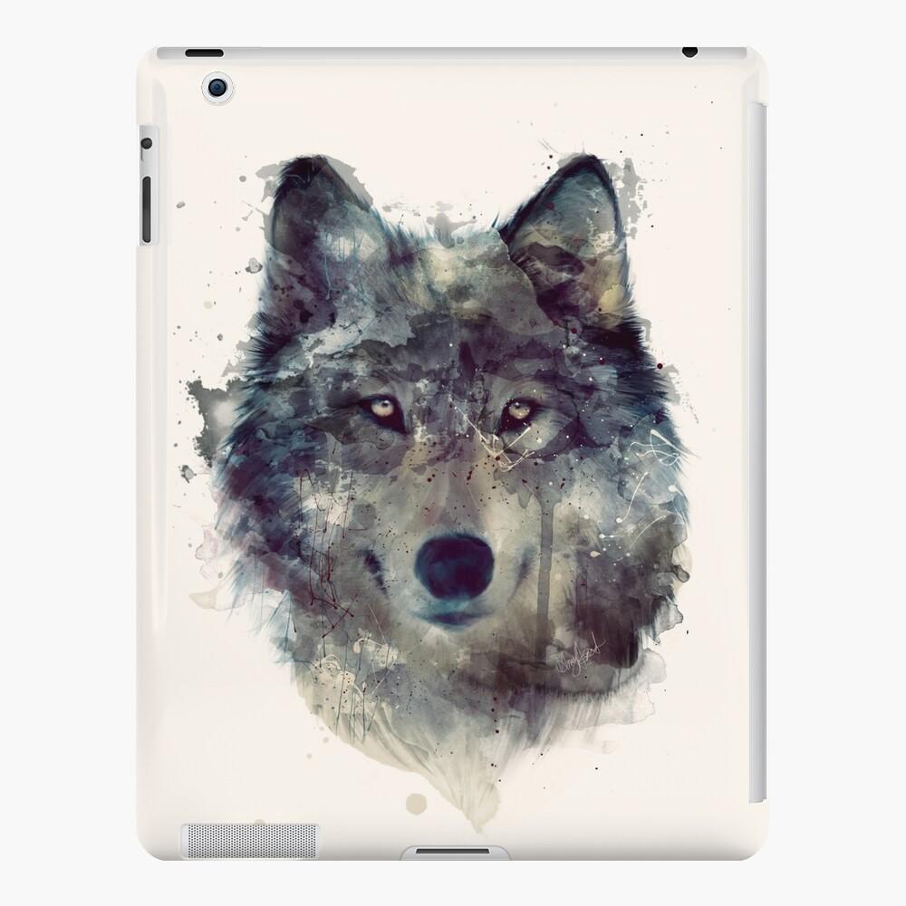 Wolf // Durchhalte dich iPad-Hülle & Skin