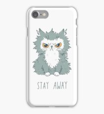 Stay Away iPhone Case/Skin