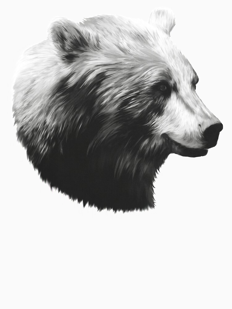 Bear // Calm Sketch by AmyHamilton