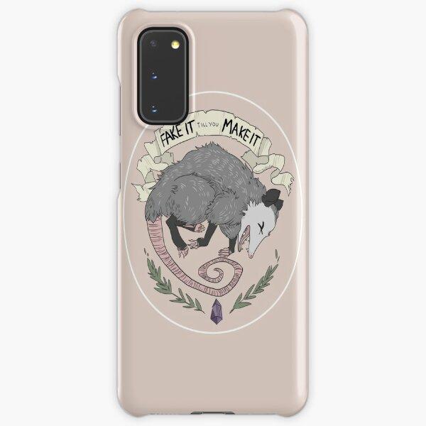 Fake It Till You Make It Samsung Galaxy Snap Case
