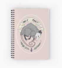 Fake It Till You Make It Spiral Notebook