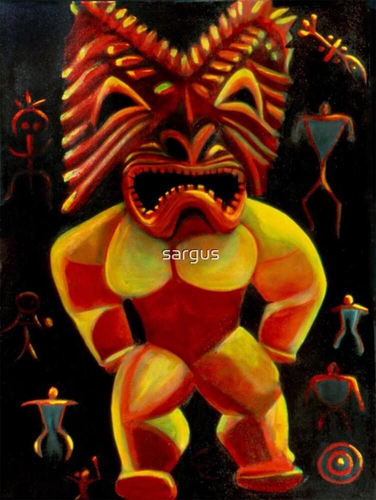 Hawaiian God by sargus