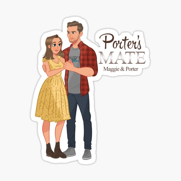 Porter's Mate Sticker