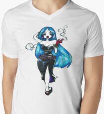 Blue Hair Men's V-Neck T-Shirt