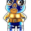 Chibi Lucha Sueño Azul by luchamaskusa