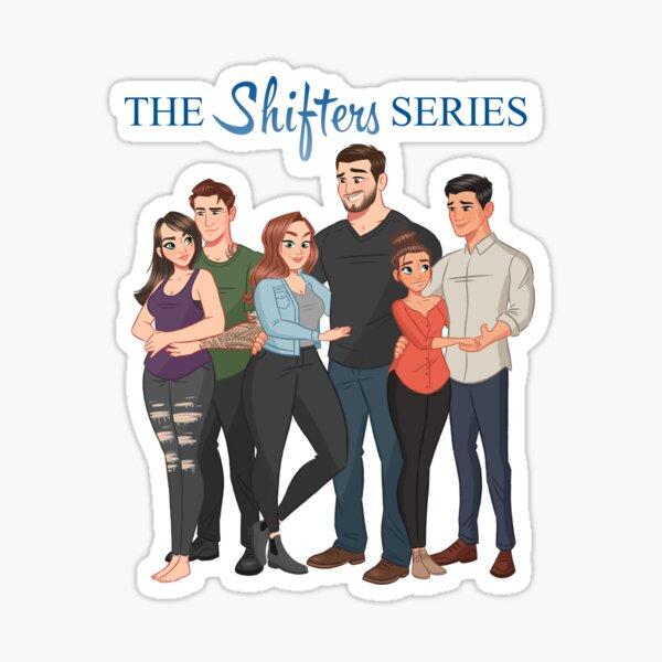The Shifters Series Couples 1-3 Sticker