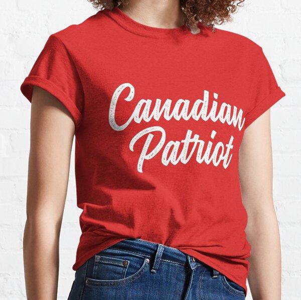 Canadian Patriot Classic T-Shirt