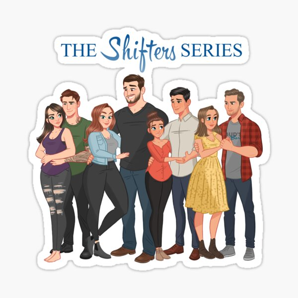 The Shifters Series Couples 1-4 Sticker