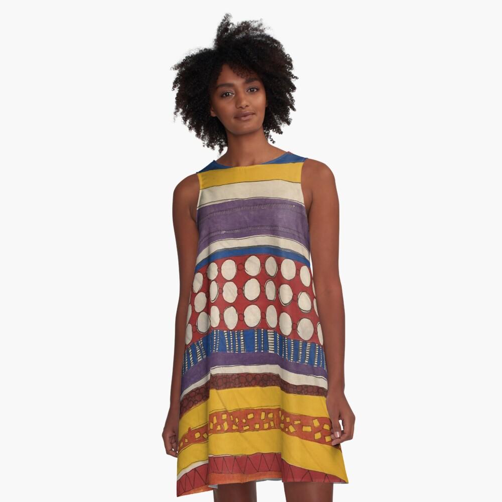 Dotty Dots A-Line Dress
