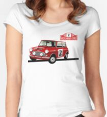 1966 Rallye Monte Carlo Women's Fitted Scoop T-Shirt