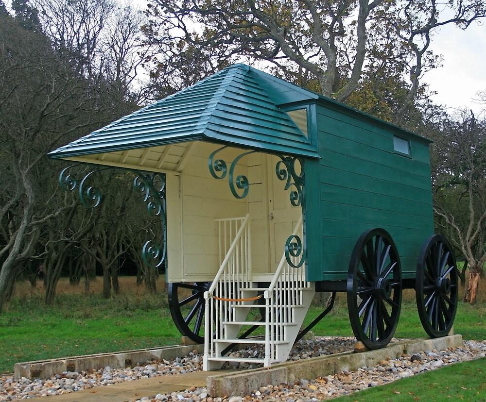 Queen Victoria's Bathing Machine by RedHillDigital