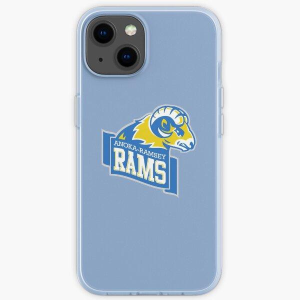 Anoka Ramsey CC Golden Rams iPhone Soft Case