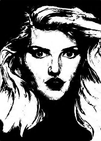 Debbie Harry: Graphic by AdagioArt
