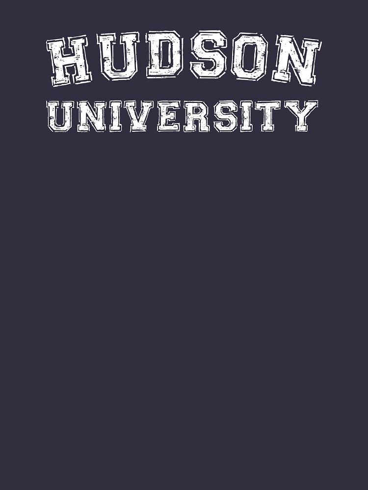 Hudson University  (Law & Order, Castle) | Unisex T-Shirt