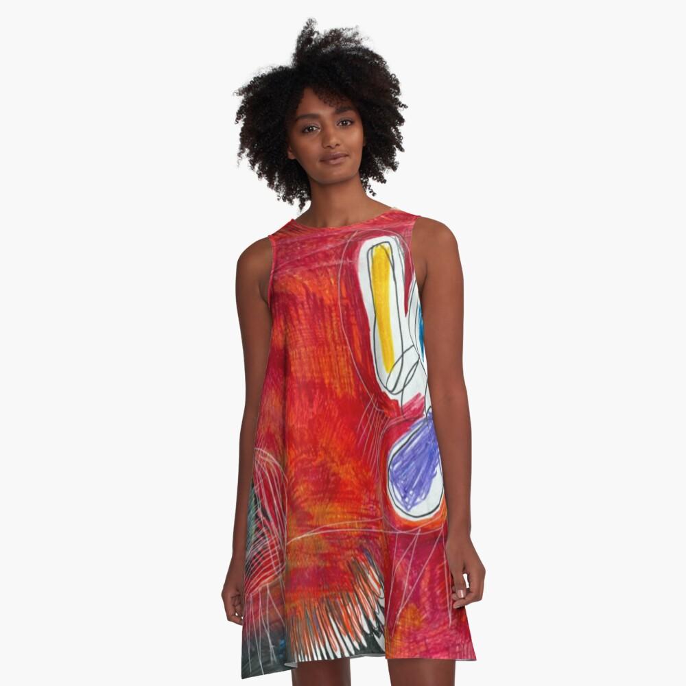 Fireflies A-Line Dress