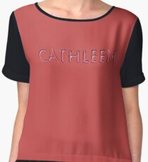 Cathleen Women's Chiffon Top