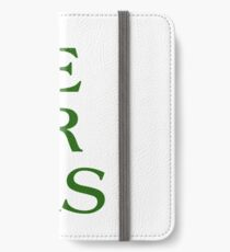Pronouns - ZIE / ZIR / ZIRS - LGBTQ Trans pronouns tees iPhone Wallet/Case/Skin