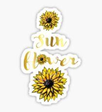 Sun Flower Sticker