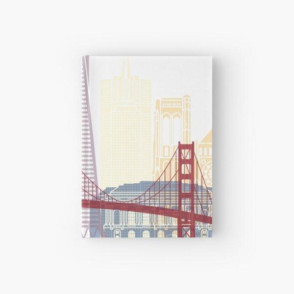 San Francisco skyline poster Hardcover Journal