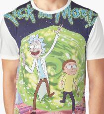 Rick and Morty Season 2 Graphic T-Shirt
