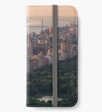 Upper West Side seen from Top Of The Rock iPhone Wallet