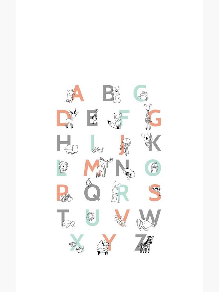 Animal Alphabet by AmyHamilton