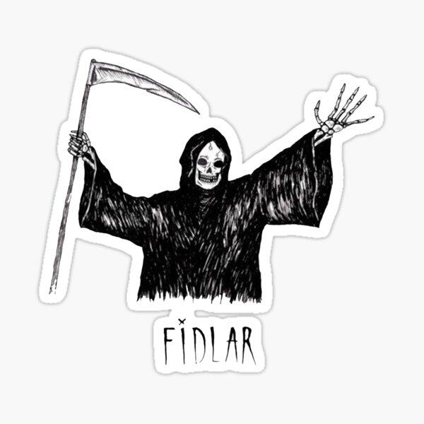 Fidlar Logo Stickers Sticker