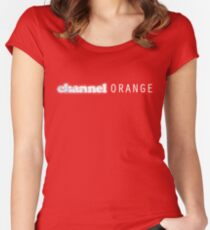 Channel Orange Women's Fitted Scoop T-Shirt