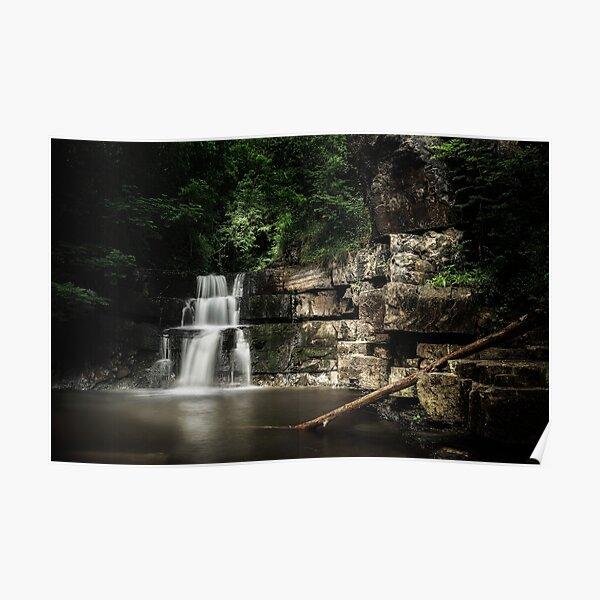 Bowlees River Waterfall Poster