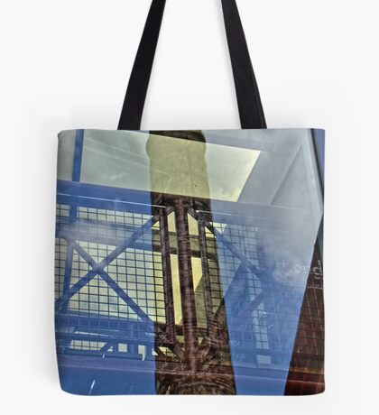 Glass Reflection - Rhondda Heritage Park, Wales Tote Bag